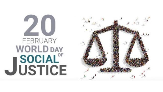 20 February: World day of Social justice